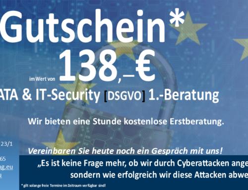 DATA & IT-Security [DSGVO] Gutschein